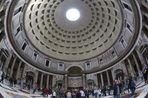 Interior Church of St. Mary of the Martyrs and Cupola Inside the Pantheon by Stuart Black
