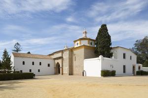 La Rabida Monastery where Columbus stayed before historic voyage of 1492, La Rabida, Huelva, Costa  by Stuart Black