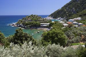 Location for the Film Mamma Mia!, Damouchari, Pelion Peninsula, Thessaly, Greece, Europe by Stuart Black