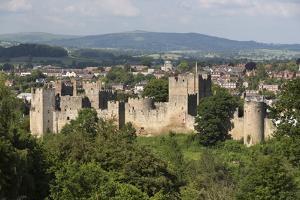 Ludlow Castle, Ludlow, Shropshire, England, United Kingdom, Europe by Stuart Black