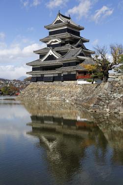 Matsumoto-Jo (Wooden Castle), Matsumoto, Central Honshu, Japan, Asia by Stuart Black