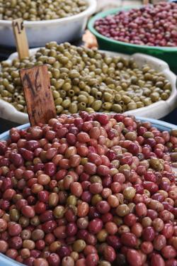 Olives in the Souk, Essaouira, Atlantic Coast, Morocco, North Africa, Africa by Stuart Black
