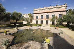 Palacio de Villavicencio inside the Alcazar, Jerez de la Frontera, Cadiz province, Andalucia, Spain by Stuart Black