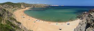 Panoramic View of Platja De Cavalleria (Cavalleria Beach) by Stuart Black