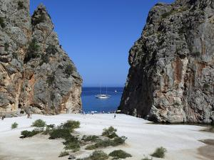 Platja De Torrent De Pareis, Sa Calobra, Mallorca (Majorca), Balearic Islands, Spain, Mediterranean by Stuart Black