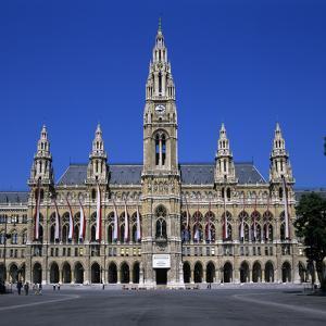 Rathaus (Gothic Town Hall), UNESCO World Heritage Site, Vienna, Austria, Europe by Stuart Black