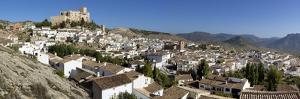 Renaissance Castle and White Village, Velez Blanco, Almeria, Andalucia, Spain, Europe by Stuart Black
