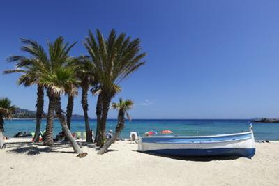 Saint-Clair Beach, Le Lavandou, Var, Provence-Alpes-Cote D'Azur, Provence, France, Europe by Stuart Black