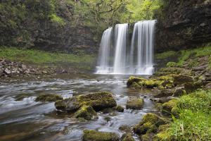 Sgwd Yr Eira Waterfall, Ystradfellte, Brecon Beacons National Park, Powys, Wales, United Kingdom by Stuart Black