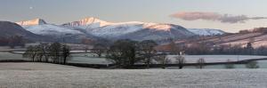 Snow Covered Pen Y Fan in Frost by Stuart Black