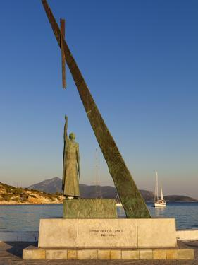 Statue of Pythagoras (Greek Philosopher and Mathematician), Pythagorion, Samos, Greece by Stuart Black