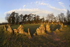 The Rollright Stones, a Bronze Age Stone Circle, Chipping Norton, Oxfordshire, Cotswolds, England by Stuart Black