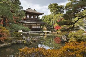 The Silver Pavilion, Buddhist Temple of Ginkaku-Ji, Northern Higashiyama, Kyoto, Japan by Stuart Black