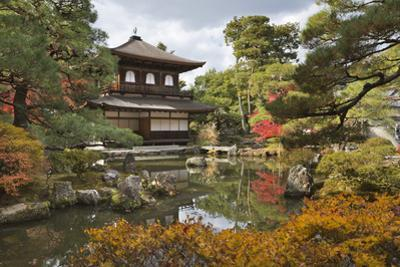 The Silver Pavilion, Buddhist Temple of Ginkaku-Ji, Northern Higashiyama, Kyoto, Japan by Stuart Black