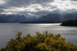 View across Lake Nahuel Huapi, Villa La Angostura, Nahuel Huapi National Park, Lake District, Argen by Stuart Black