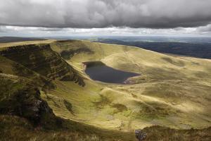 View of Llyn Y Fan Fach, Black Mountain, Llanddeusant by Stuart Black