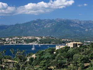 View over Golfe De Porto Vecchio, Porto Vecchio, South East Corsica, Corsica, France, Mediterranean by Stuart Black
