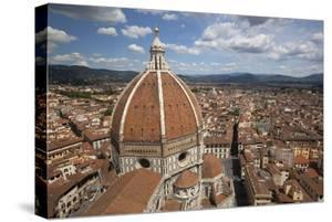 View over the Duomo and City from the Campanile, Florencetuscany, Italy, Europe by Stuart Black