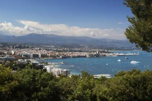 View over Town and Bay from Phare D'Antibes by Stuart Black