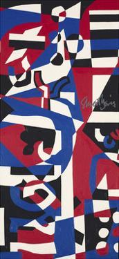 Composition Concrete (Study for Mural), 1957-1960 by Stuart Davis