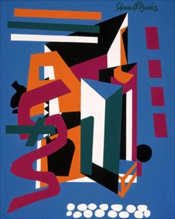 Medium Still Life, 1953 by Stuart Davis