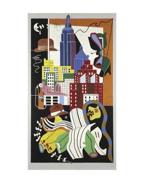 New York Mural, 1932 by Stuart Davis