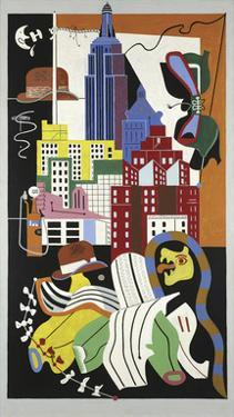 New York Mural, 1932 by Stuart Davis
