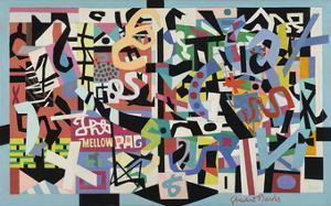 The Mellow Pad, 1945-1951 by Stuart Davis