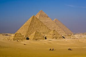Great Pyramids of Egypt by Stuart Dee