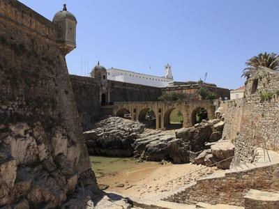 The Fortaleza De Peniche (Fortress of Peniche), Used as a Prison During the Estado Novo (New State