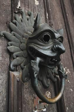 The Sanctuary Knocker by Stuart Forster