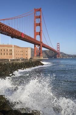 Golden Gate Bridge and Fort Point by Stuart