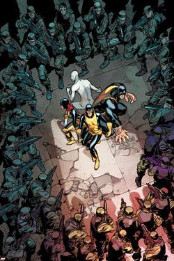 All-New X-Men #13 Cover: Cyclops, Grey, Jean, Iceman, Beast by Stuart Immonen