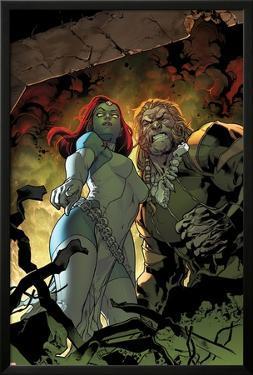 All-New X-Men #9 Cover: Mystique, Sabretooth by Stuart Immonen