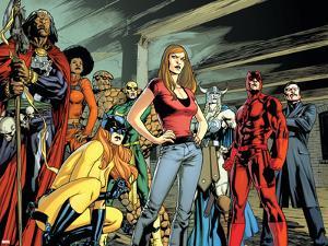 New Avengers No.59 Group: Doctor Voodoo by Stuart Immonen