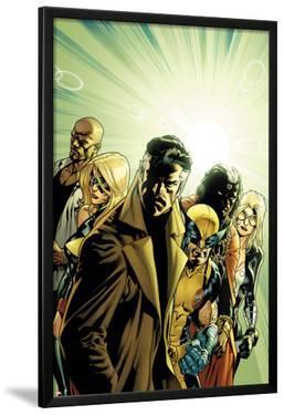 New Avengers No.6 Cover: Dr. Strange, Wolverine, Ms. Marvel, Luke Cage, Doctor Voodoo & Mockingbird by Stuart Immonen