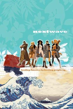 Nextwave No.1 Cover: Rambeau by Stuart Immonen