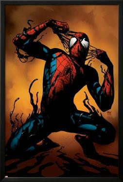 Ultimate Spider-Man No.125 Cover: Spider-Man by Stuart Immonen