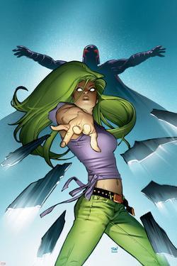 Ultimate X-Men No.61 Cover: Polaris by Stuart Immonen