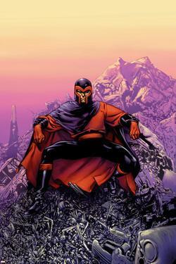 Ultimate X-Men No.62 Cover: Magneto by Stuart Immonen