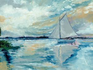 Boat on the Broads by Stuart Roy