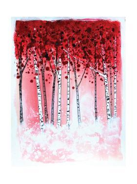 Red Aspen by Stuart Roy