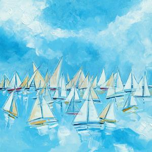 Sailing Boats by Stuart Roy