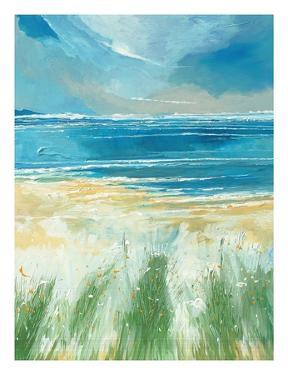Summer Sea and Beach at Holkham by Stuart Roy