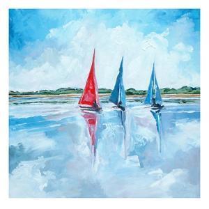 Three Boats by Stuart Roy