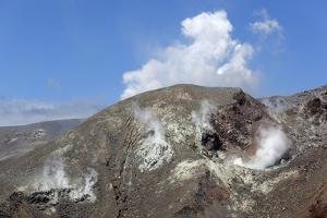 Steam Rising from Side of Mount Tongariro by Stuart