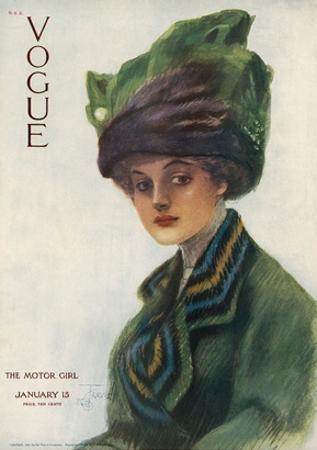 Vogue Cover - January 1910