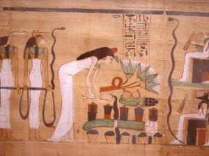 Ancient Papyrus, Cairo Museum of Egyptian Antiquities, Cairo, Egypt by Stuart Westmoreland