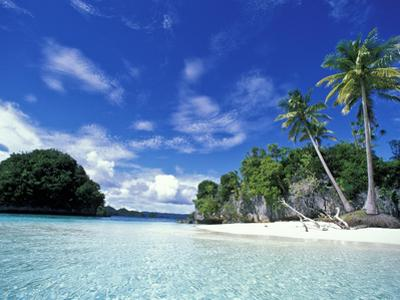 Bay of Honeymoon Island, World Heritage Site, Rock Islands, Palau