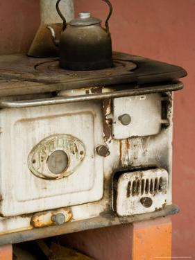 Classic Wood Stove, Estancia Santa Susan near Outskirts of Buenos Aires, Argentina by Stuart Westmoreland